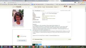 Goodreads Author Profile