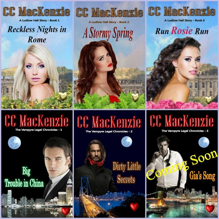 CC MacKenzie's Released Books