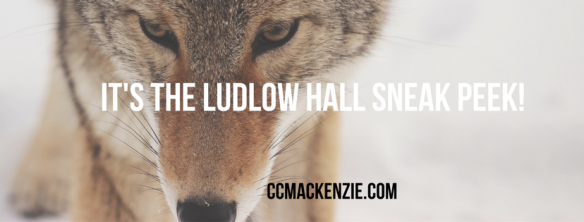 IT'S THE LUDLOW HALL SNEAK PEEK